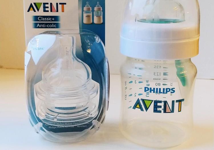 Naujasis Philips-Avent anti-colic buteliukas