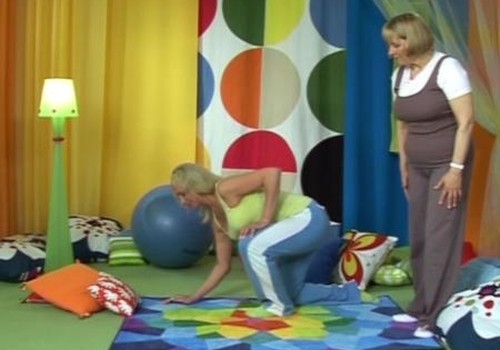 Gimnastika nėščiosioms. IV dalis