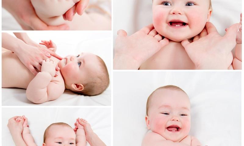 Masažuokime kūdikius kasdien su meile