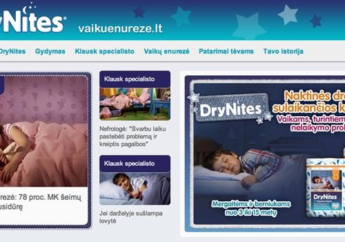Dėmesio! Startavo naujas interneto puslapis www.vaikuenureze.lt