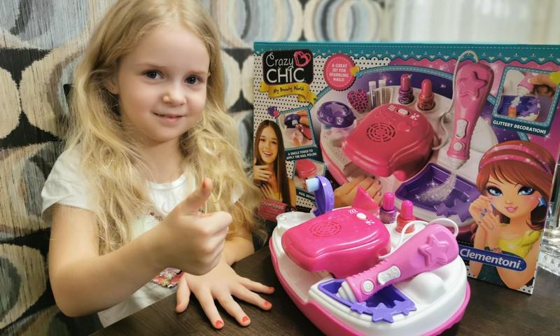 Clementoni nagų priežiūros rinkinys - mergaičių džiaugsmas!