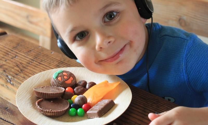 Kiek vaikams galima saldainių?