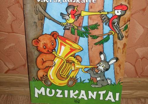 """Vaikiškos knygelės recenzija: V. Krakauskaitė """"MUZIKANTAI"""""""