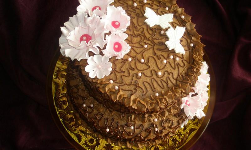 Tortų labirintai:-)Fantos tortas...