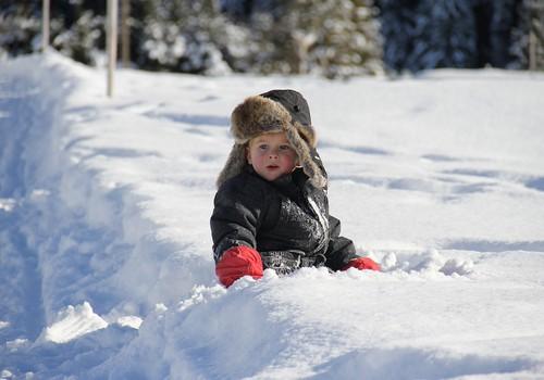 Vaiko veido odos priežiūra spaudžiant šaltukui