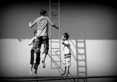 Gausybė linksmybių vaikų šventėje