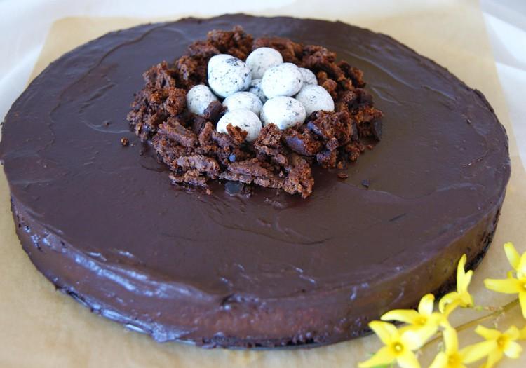 VELYKINIS RECEPTAS: Šokoladinis varškės tortas