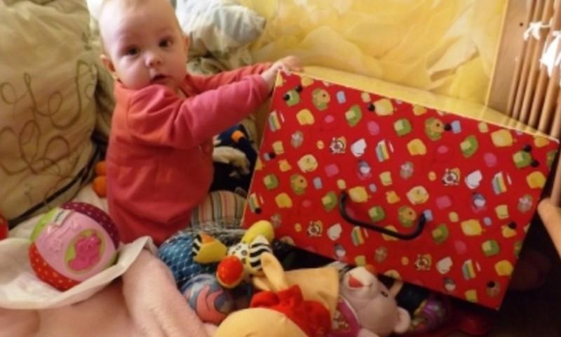 """Huggies® Step in projektas """"Mano mažylis mokosi šliaužti!"""": III savaitės laimėtoja"""