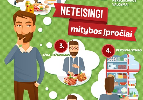 5 neteisingi mitybos įpročiai: kaip juos pašalinti?
