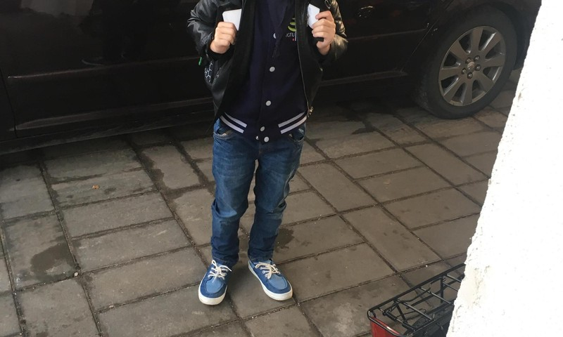 Simono pirmoji savaitė mokykloje