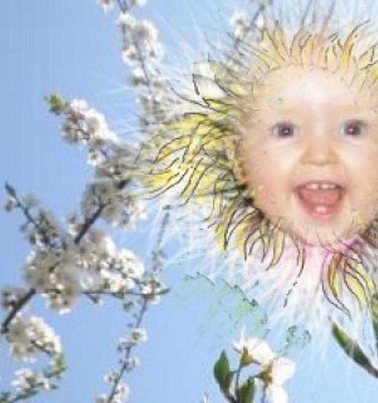 Birutėlė kaip saulutė visiems ir visada šypsosi...