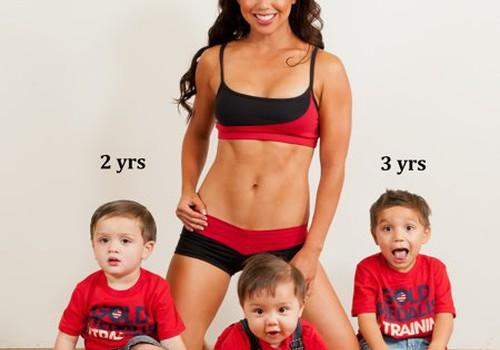 Trijų sūnų mama ir jos nuostabus kūnas - ar ne pavydu?
