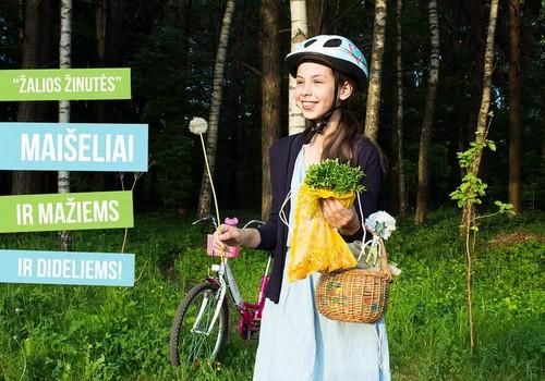 Žalia žinutė norintiems gyventi ekologiškiau