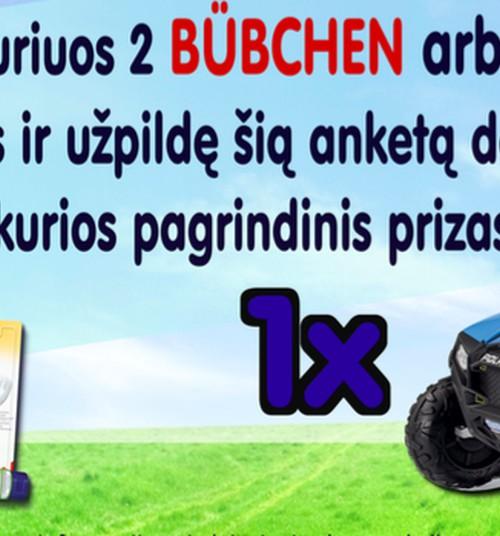 """LOTERIJA parodoje """"Vaikų šalis"""": pirk Bubchen/NUK ir laimėk vaikišką elektromobilį"""