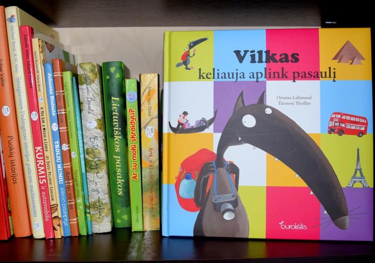 """AČIŪ už knygelę """"Vilkas keliauja aplink pasaulį"""""""
