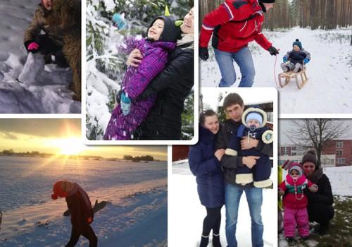 """Fotoalbumas """"Žiemos linksmybės"""": renkame laimėtojas"""