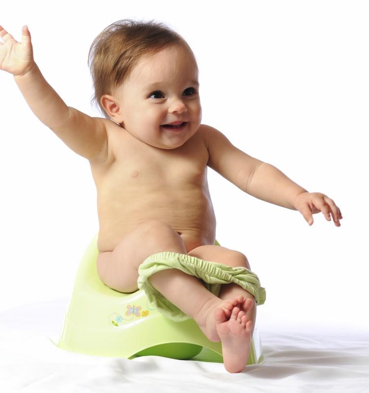 Ar verta mažylį sodinti ant puoduko kuo anksčiau?