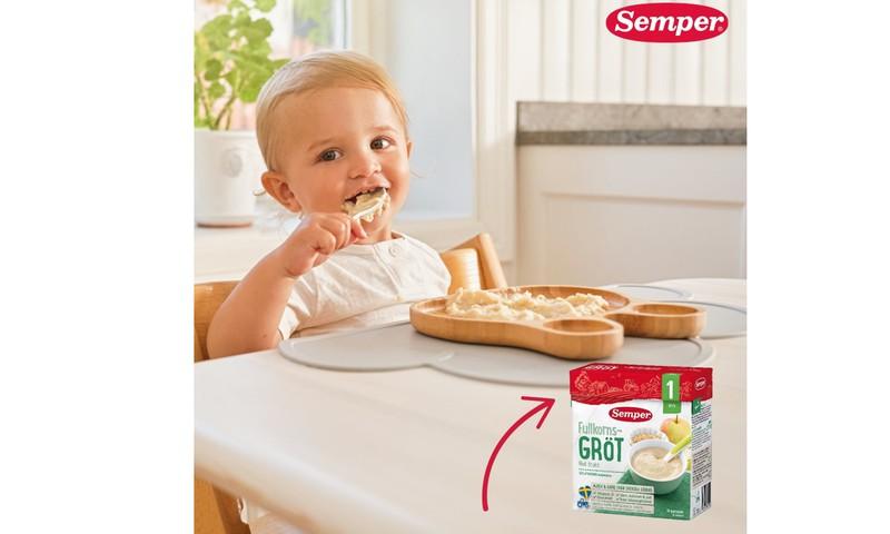 TESTAVIMAS: Kviečiame išbandyti Semper užpilamas košes kūdikiams