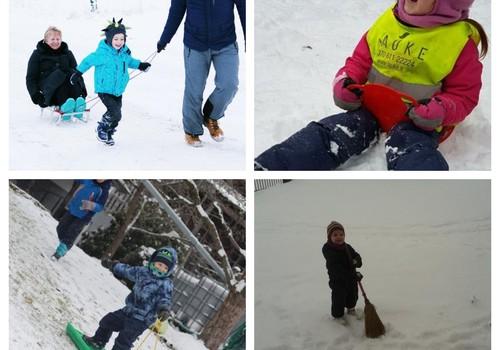Žiemos linksmybės: fotoalbumas + knygų įteikimas