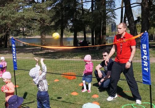 """""""Vaikų sportas"""" kviečia šeimas į savaitgalio stovyklą!"""