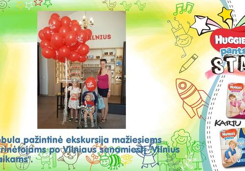 """Pirmoji vasaros ekskursija - """"Vilnius Vaikams"""""""