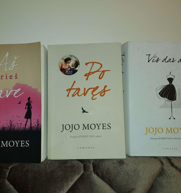 Jojo Moyes romanai verti mano vėlyvų vakarų