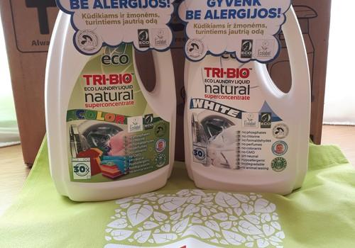 Testuoju TRI-BIO produkciją - Natūralus EKO skystas drabužių skalbiklis |white|color|