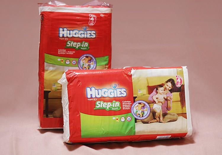 Huggies® Step In - mažiesiems šliaužiotojams!