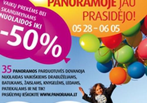 """Prekybos centre """"Panorama"""" - jaunieji talentai ir ropliukų lenktynės!"""