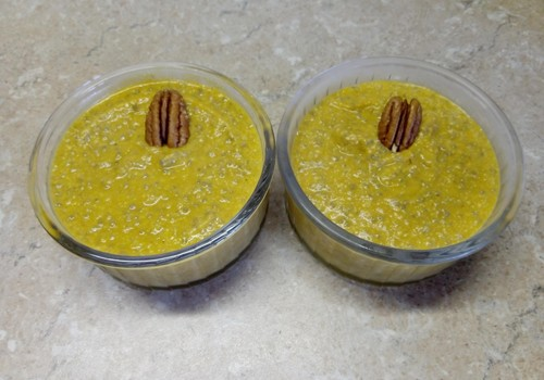 Rudeniškas moliūgų desertas
