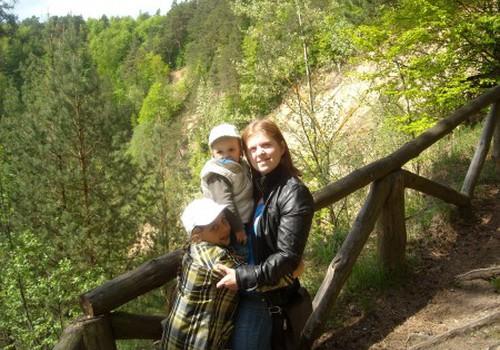 Šeimos dieną mėgavomės gamtoje. I dalis