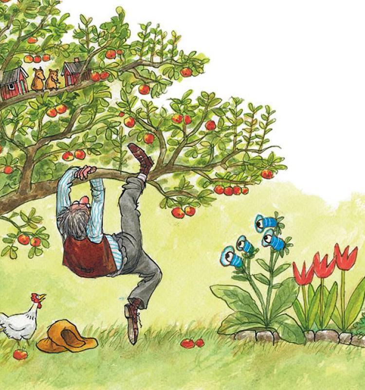 Vaikų pamiltos knygos apie Petsoną ir Findusą sugrįžo!