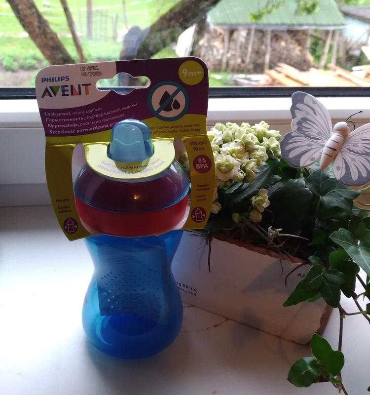 Philips AVENT puodelis su snapeliu-patiko ir tiko!