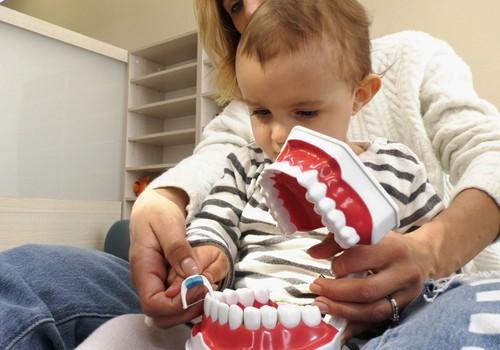 Kada pirmą sykį reikia patikrinti mažųjų dantukus?