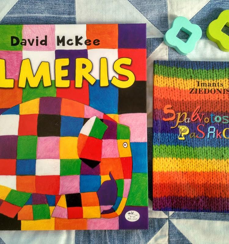 Meškiukas bibliotekoje: Skaitome apie spalvas