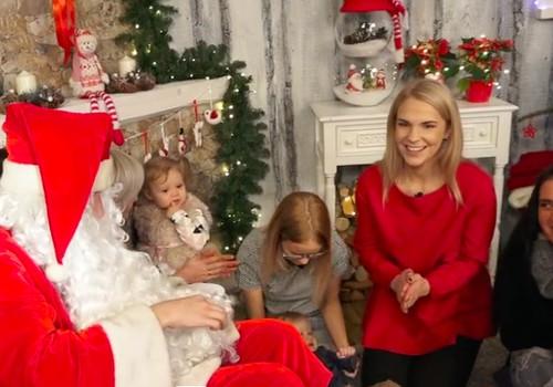 VIDEO: Kaip mažylį paruošti pirmajam susitikimui su Kalėdų seneliu?