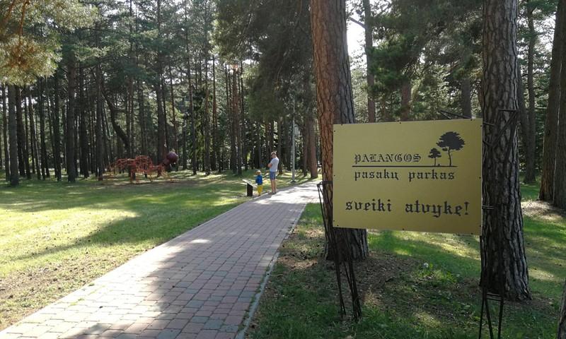 Interaktyvus pasakų parkas Palangoje