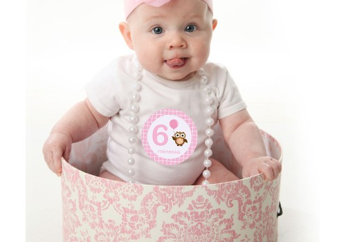 Naujiena - lipdukai nėštumo mėnesiams ir pirmiesiems kūdikio metams pažymėti!