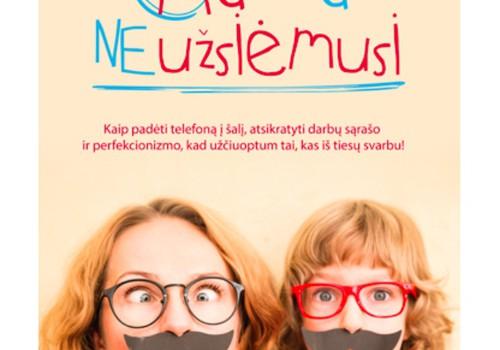 """Mėgstamiausia veikla su vaiku + knyga """"Mama neužsiėmusi"""""""