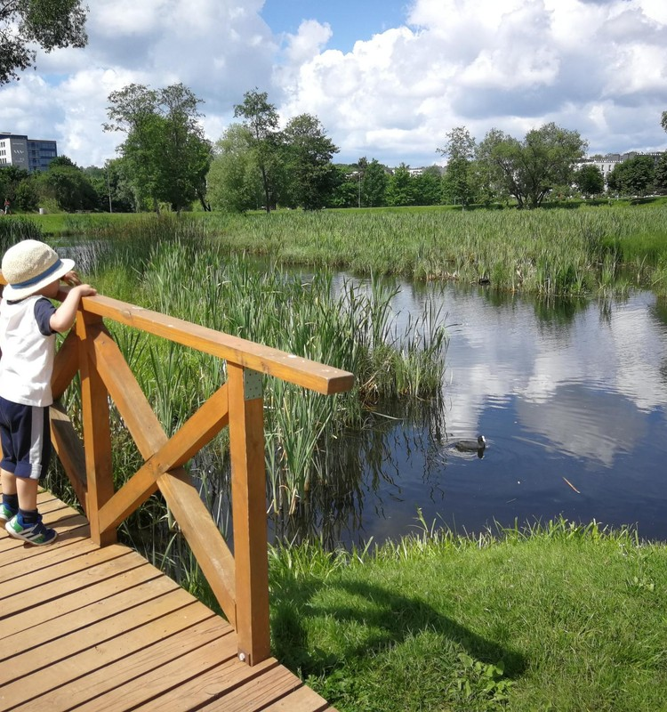 Vasaros gidas: Ozo parkas Vilniuje