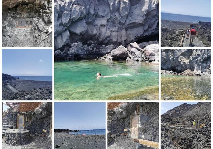 Vasaros gidas: Smaragdo spalvos natūralūs baseinukai (La Palma)