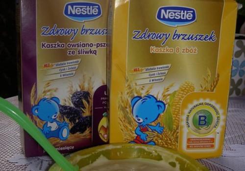 9 mėnuo - skanaujame Nestle košes