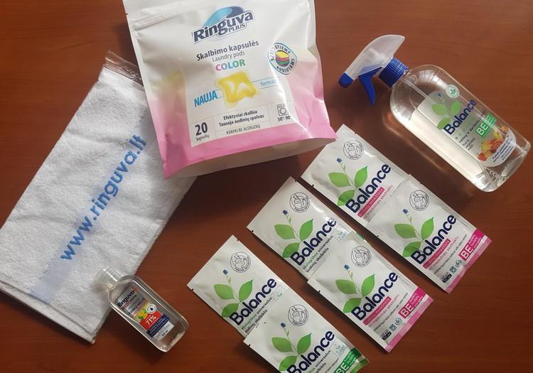 Ringuva švaros produktai