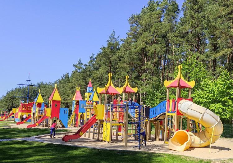 Išbandėme žaidimų aikštelę Palangoje