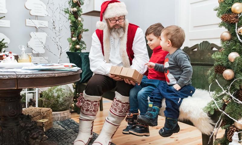 Pirmasis Kalėdų Senelio laiškas mažiesiems
