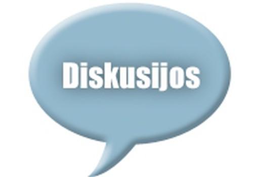 Diskusijos - nauja niša pakalbėti