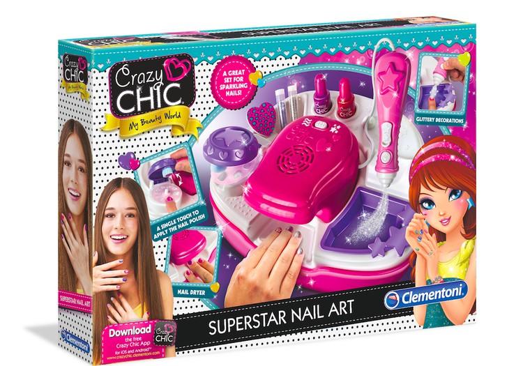 Clementoni žaisliniai grožio rinkiniai - puiki kalėdinė dovana princesėms