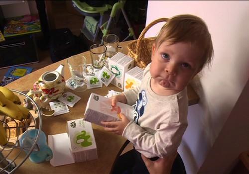 VIDEO: Kokias žolelių arbatas tinka gerti vaikams?