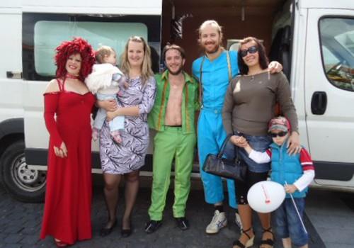 Švedijos cirko grupė Vilniuje!