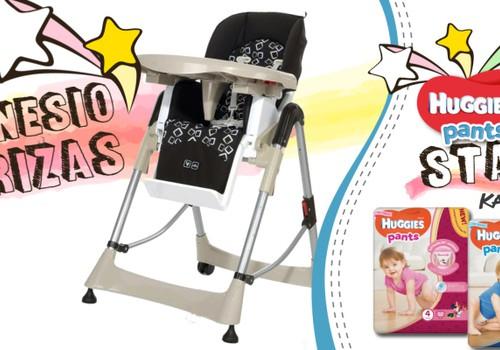 Dalyvauk FOTO konkurse ir laimėk mažyliui ABC Design maitinimo kėdutę!